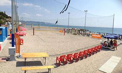 Beach Volley Spiaggia San Sebastiano Ceriale